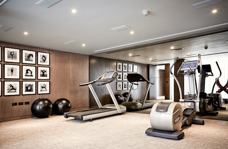 5&6 Connaught Place, Hyde Park, London. Flairlight Designs Ltd Classic style gym