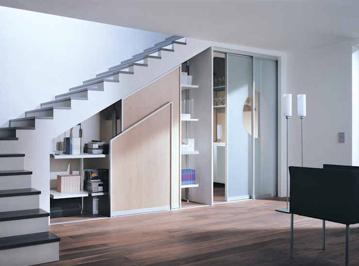 modern  by Zimmermanns Kreatives Wohnen, Modern Engineered Wood Transparent