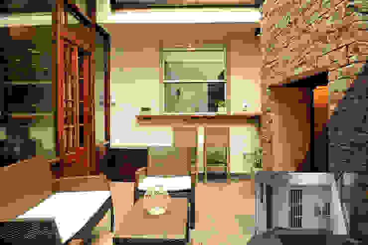 Jardín Jardines de estilo minimalista de Radrizzani Rioja Arquitectos Minimalista Piedra