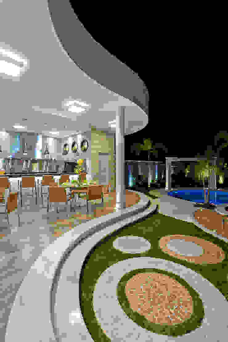 Casa Tripoli Varandas, alpendres e terraços modernos por Arquiteto Aquiles Nícolas Kílaris Moderno