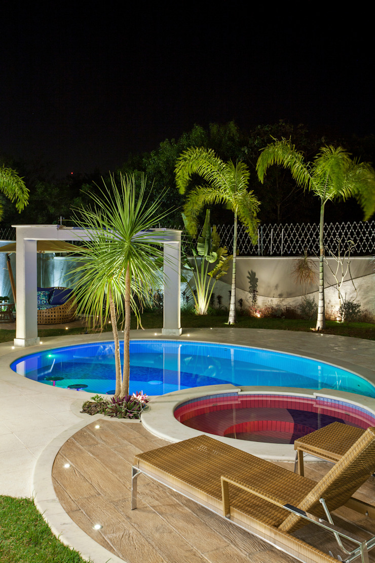 Casa Tripoli Piscinas modernas por Arquiteto Aquiles Nícolas Kílaris Moderno