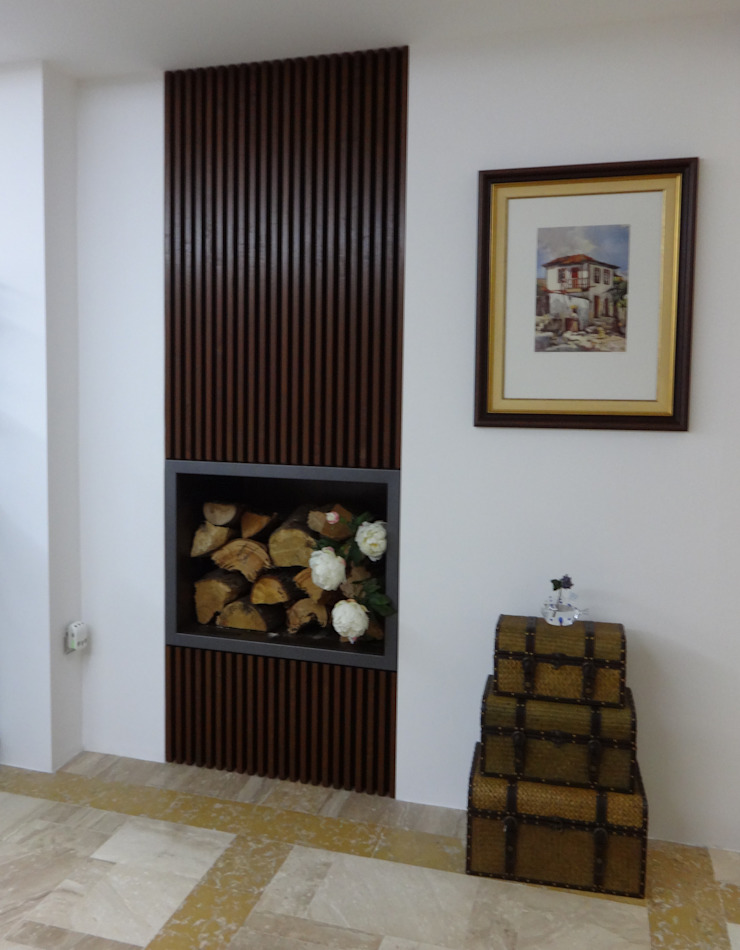 Sala de estar - Habitação Unifamiliar Salas de estar modernas por Método-Arquitectura & Decoração Moderno