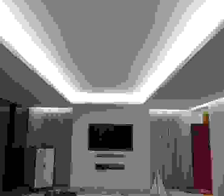 Sala de estar – Habitação Unifamiliar Salas de estar modernas por Método-Arquitectura & Decoração Moderno