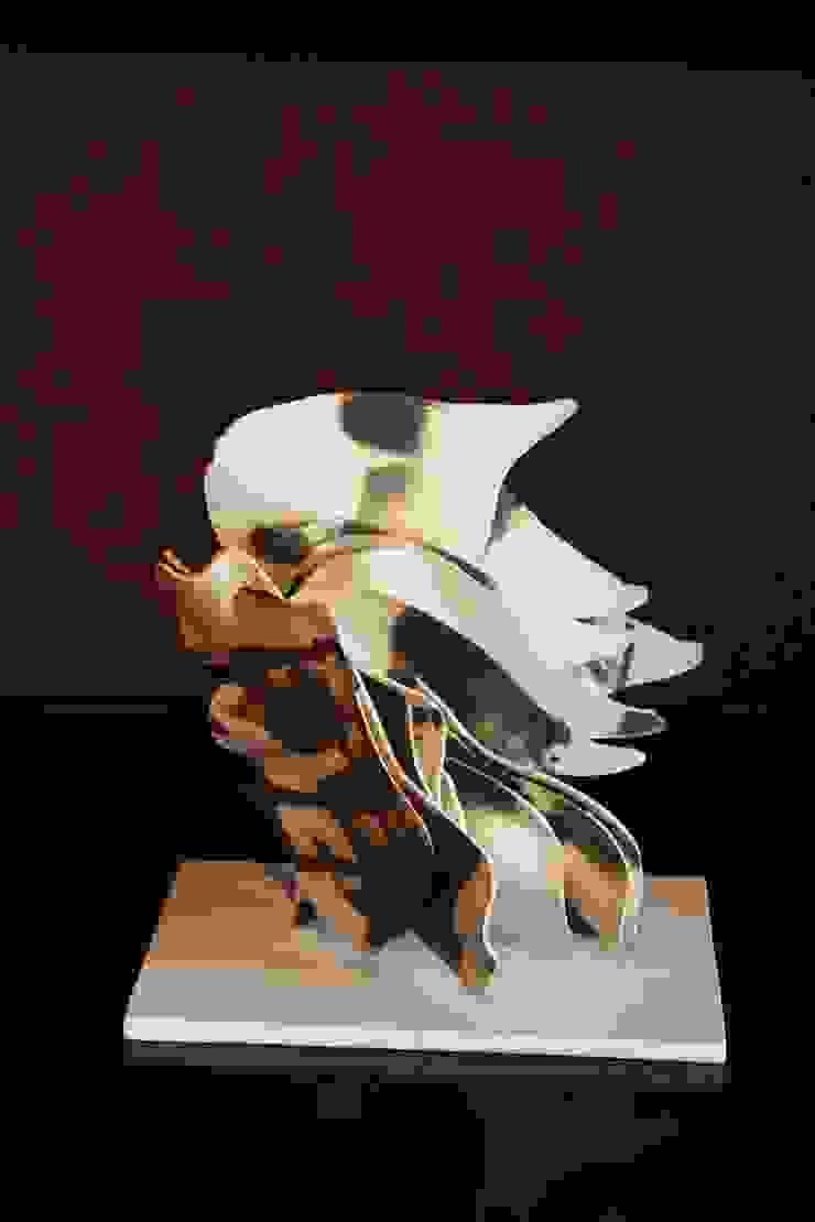 A Cross The Moonlight: Ricca OKANOが手掛けた現代のです。,モダン 磁器