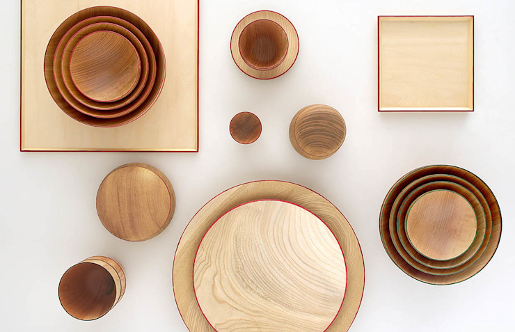 Wooden Tableware - ISUKE: miyake designが手掛けた現代のです。,モダン