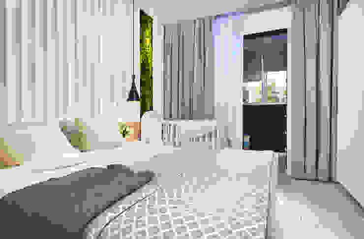Дизайн-проект квартиры для молодой пары. Спальня в эклектичном стиле от Катя Волкова Эклектичный