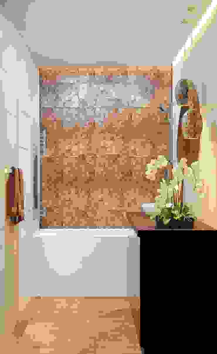 Дизайн-проект квартиры для молодой пары. Ванная комната в эклектичном стиле от Катя Волкова Эклектичный