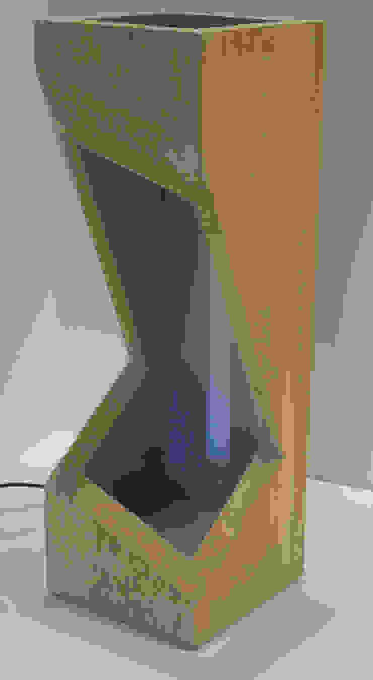Zygot'o design Corridor, hallway & stairs Lighting Solid Wood