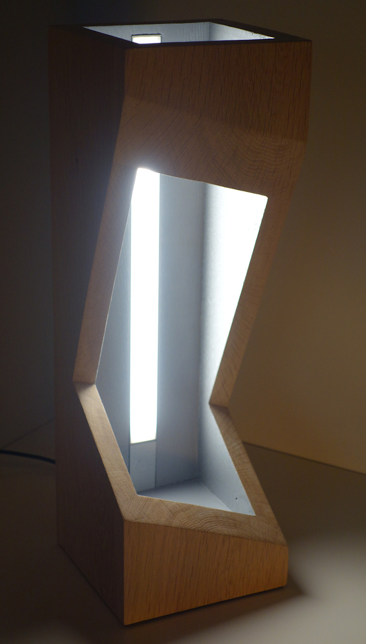 Zygot'o design Living roomLighting Solid Wood