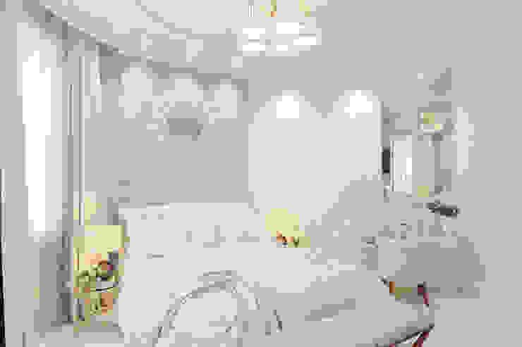 Дизайн-проект спальни для нежной и утонченной девушки. Спальня в классическом стиле от Катя Волкова Классический