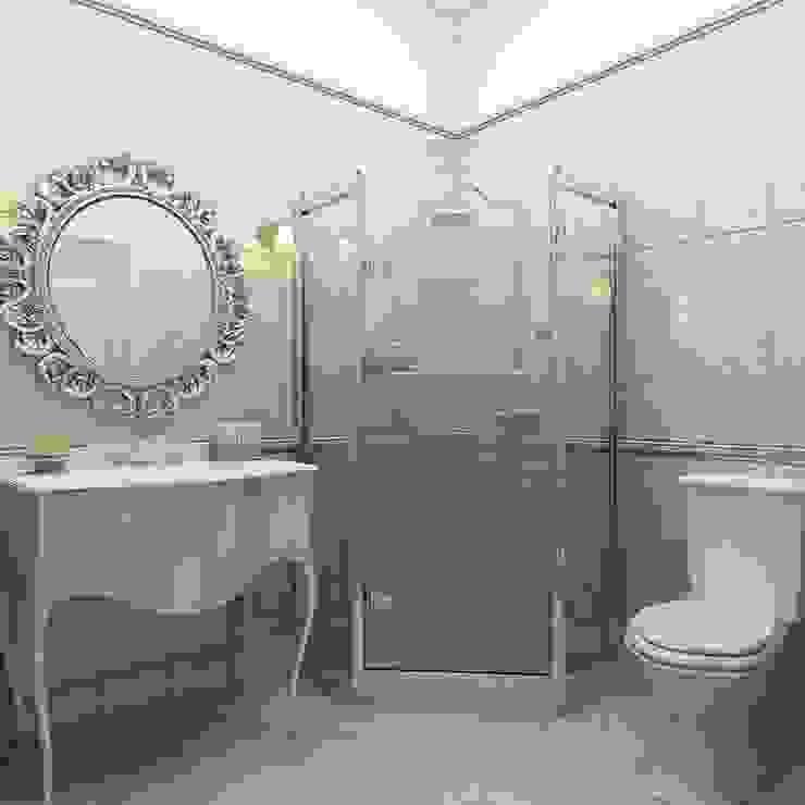 """Санузел """"Sparkle of flowers"""" Ванная в классическом стиле от Студия дизайна Дарьи Одарюк Классический"""