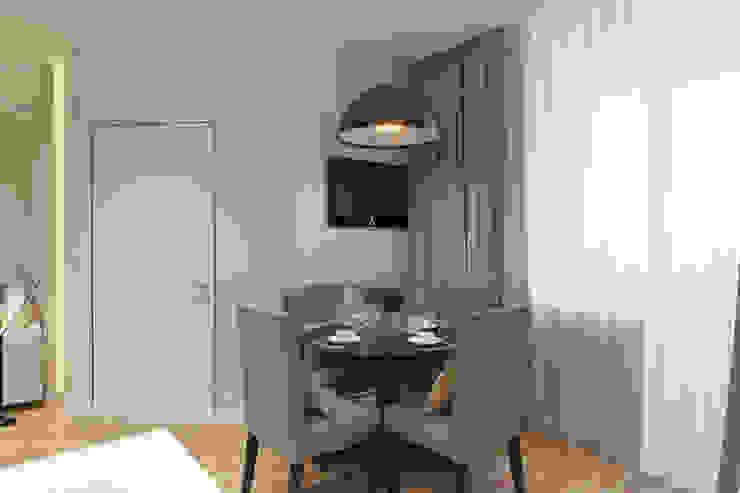 Дизайн-проект двухкомнатной квартры. Кухни в эклектичном стиле от Катя Волкова Эклектичный