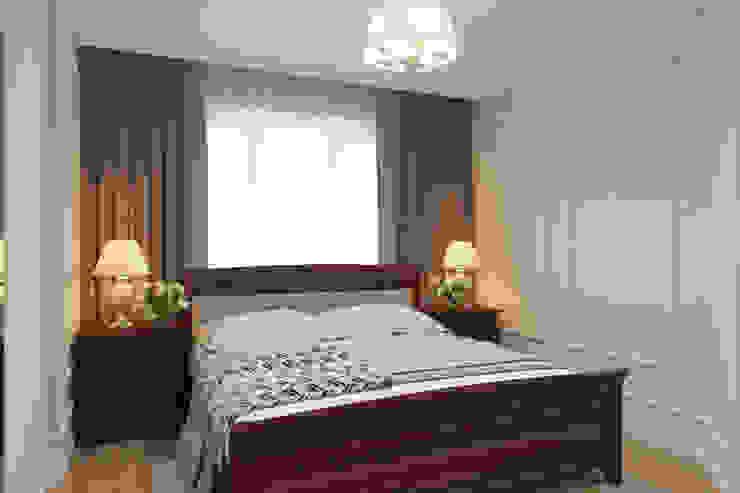 Дизайн-проект двухкомнатной квартры. Спальня в эклектичном стиле от Катя Волкова Эклектичный