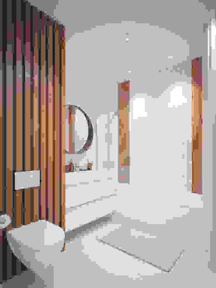 Дизайн-проект двухкомнатной квартры. Ванная комната в эклектичном стиле от Катя Волкова Эклектичный