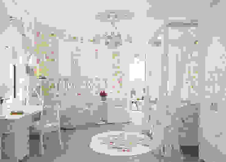 Детская комната для девочки Детская комнатa в классическом стиле от Студия дизайна Дарьи Одарюк Классический