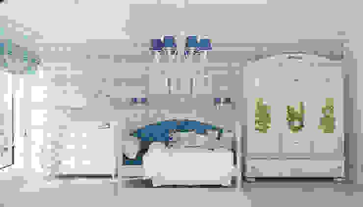 Детская комната для мальчика Детская комнатa в классическом стиле от Студия дизайна Дарьи Одарюк Классический