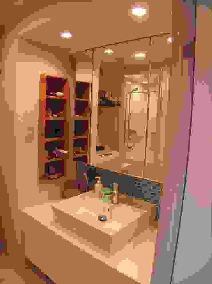 横浜市 I邸リノベーション06 オリジナルスタイルの お風呂 の 阿部工務所 オリジナル