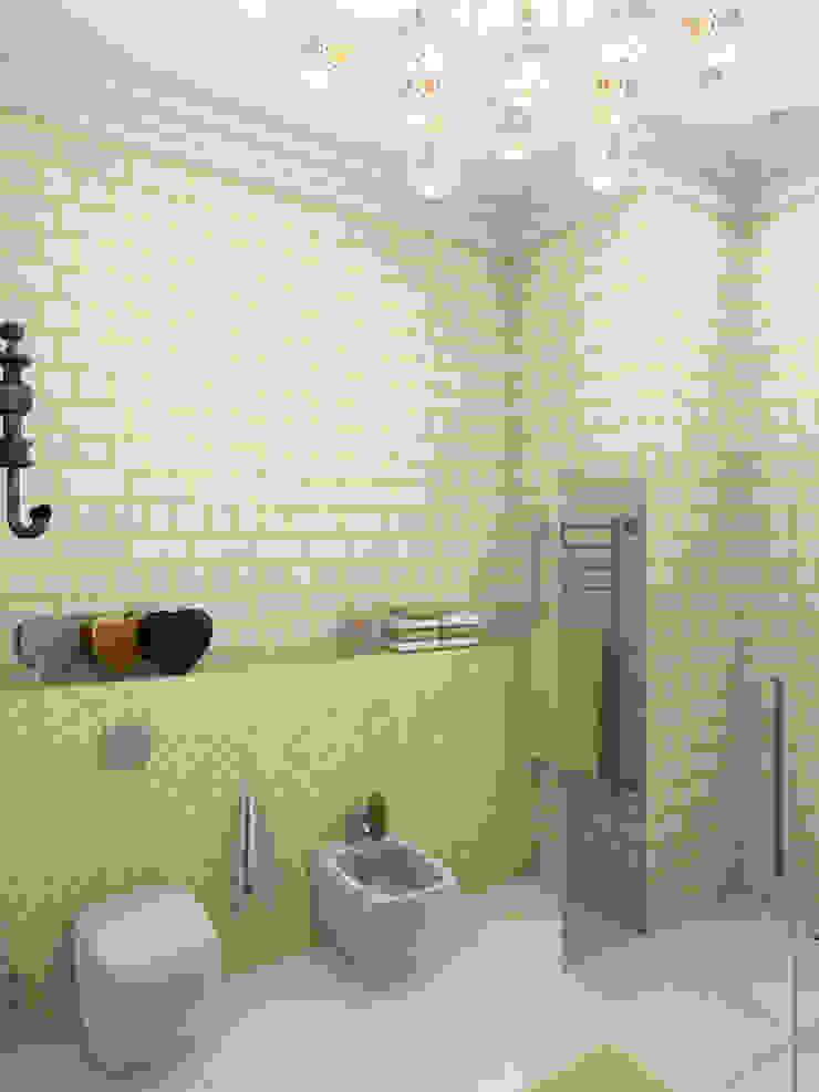 Американская история Ванная комната в эклектичном стиле от Студия Интерьерных Решений Десапт Эклектичный