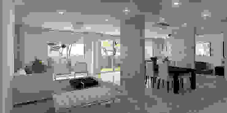 Salon Principal Salas modernas de Oleb Arquitectura & Interiorismo Moderno
