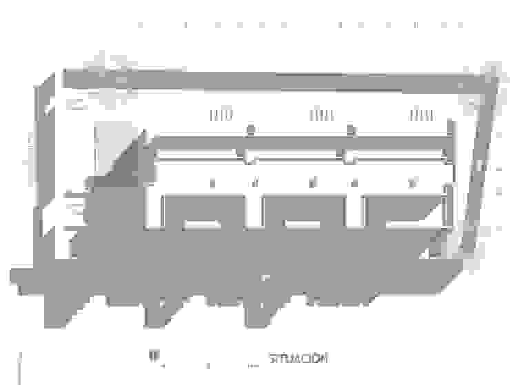 Planta de Situación de Oleb Arquitectura & Interiorismo Moderno