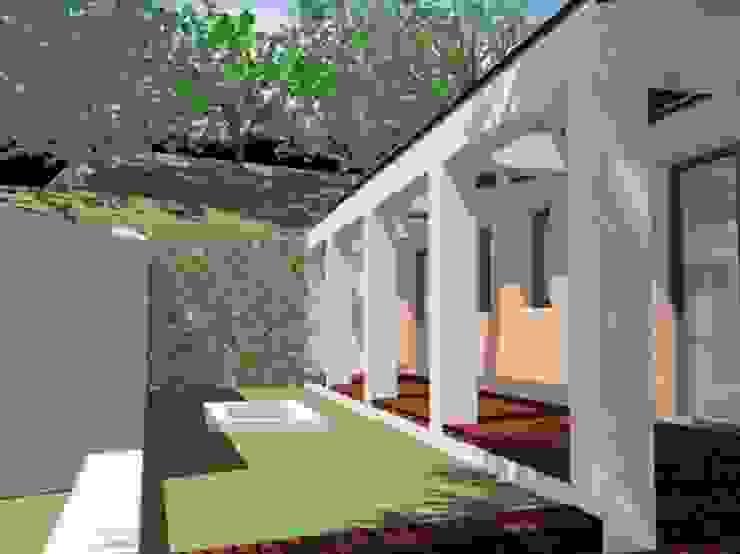 Casa Cubelles 1 de Oleb Arquitectura & Interiorismo Mediterráneo