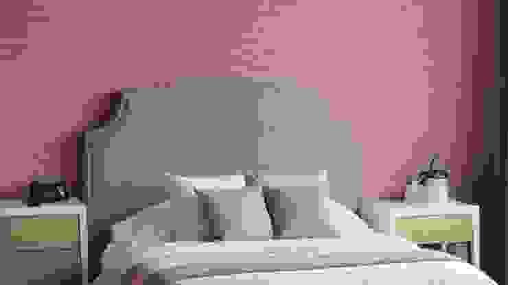 605-M Dormitorios modernos de NIVEL TRES ARQUITECTURA Moderno