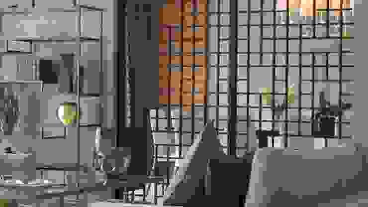 605-M Salones modernos de NIVEL TRES ARQUITECTURA Moderno