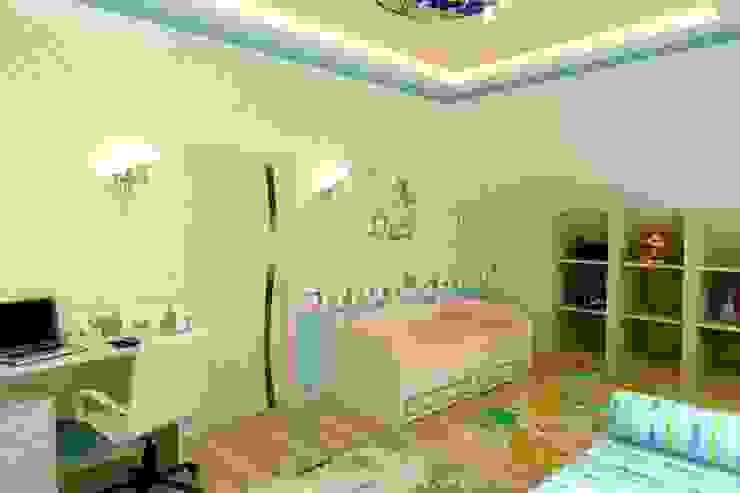 Интерьер Детской Детская комната в стиле модерн от Цунёв_Дизайн. Студия интерьерных решений. Модерн