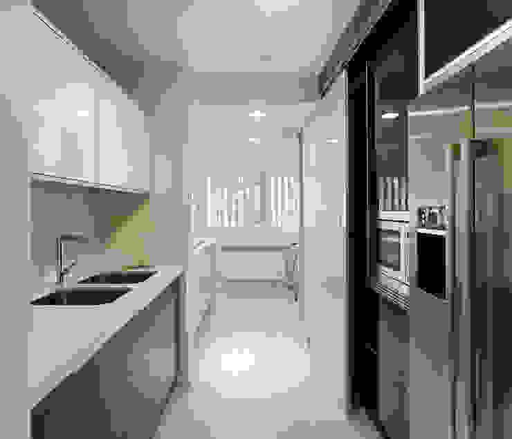 Reforma de piso en Santiago de Compostela Cocinas de estilo minimalista de Interior Zen. Obras e Proxectos Minimalista