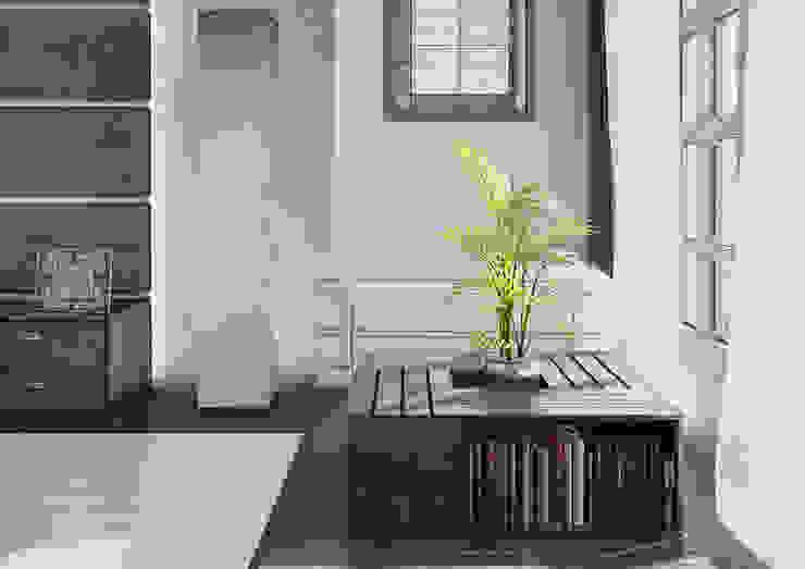 Визуализация комнаты <q>Современный Японский</q> Гостиная в азиатском стиле от Alyona Musina Азиатский