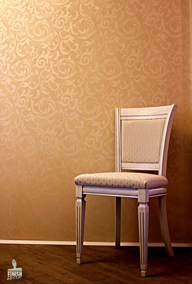 Декоративная отделка Гостиная в классическом стиле от Finishdecor Классический