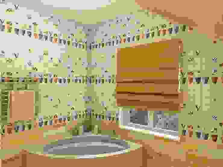 Village Style Студия Интерьерных Решений Десапт Ванная комната в стиле кантри