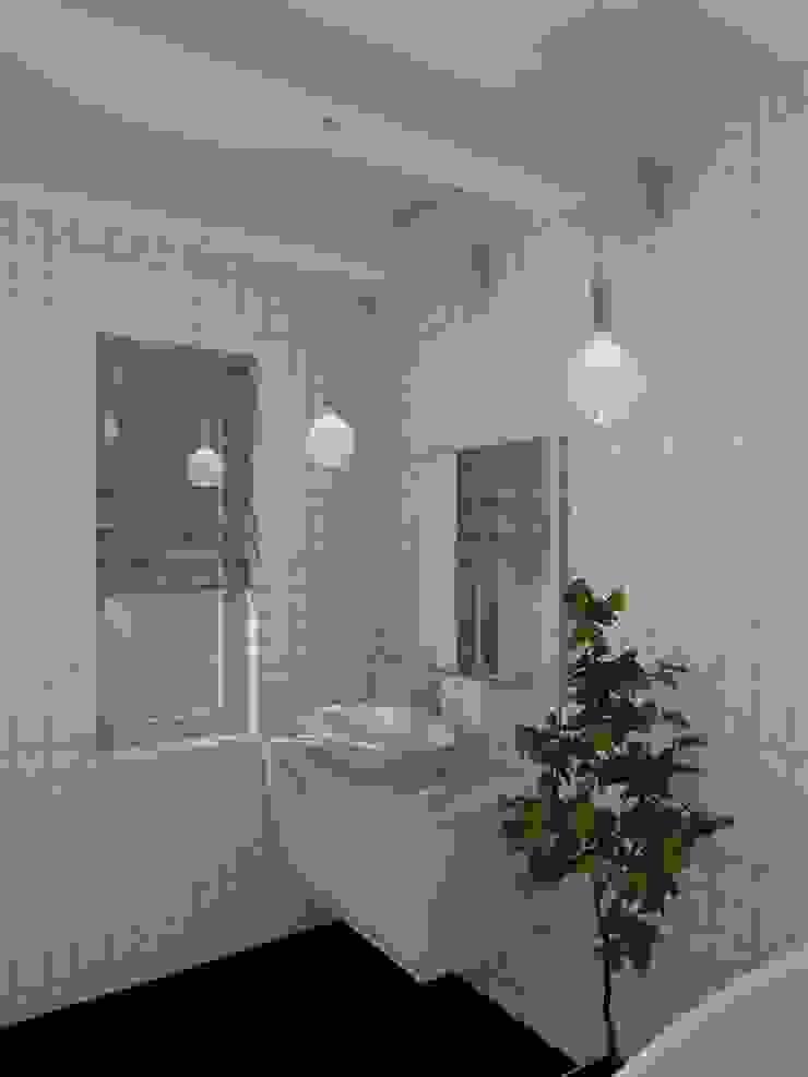 В гостях у викингов Ванная комната в скандинавском стиле от Студия Интерьерных Решений Десапт Скандинавский