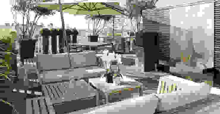 Die Umsetzung Moderner Balkon, Veranda & Terrasse von homify Modern