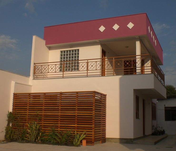Casas estilo moderno: ideas, arquitectura e imágenes de Graziela Alessio Arquitetura Moderno