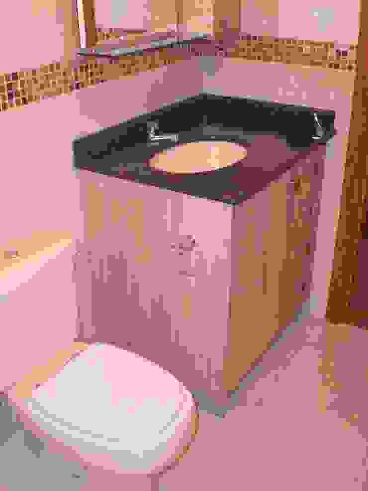 Residência das Estrelas Banheiros modernos por Graziela Alessio Arquitetura Moderno MDF