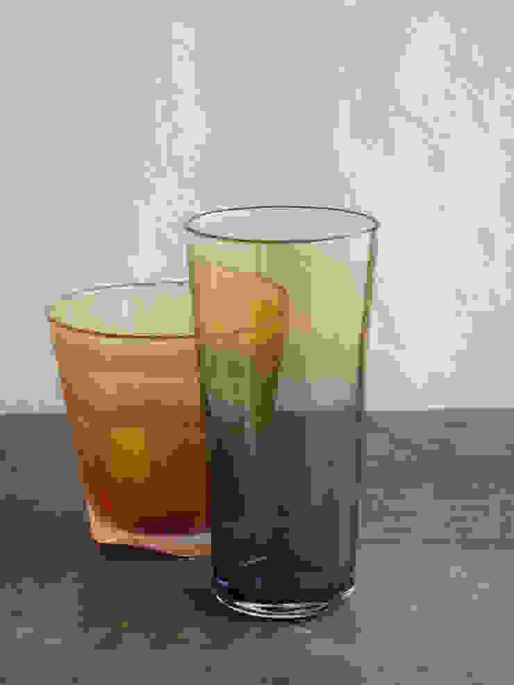 グラス「空の色」: ガラス工房 ラシクが手掛けた折衷的なです。,オリジナル ガラス