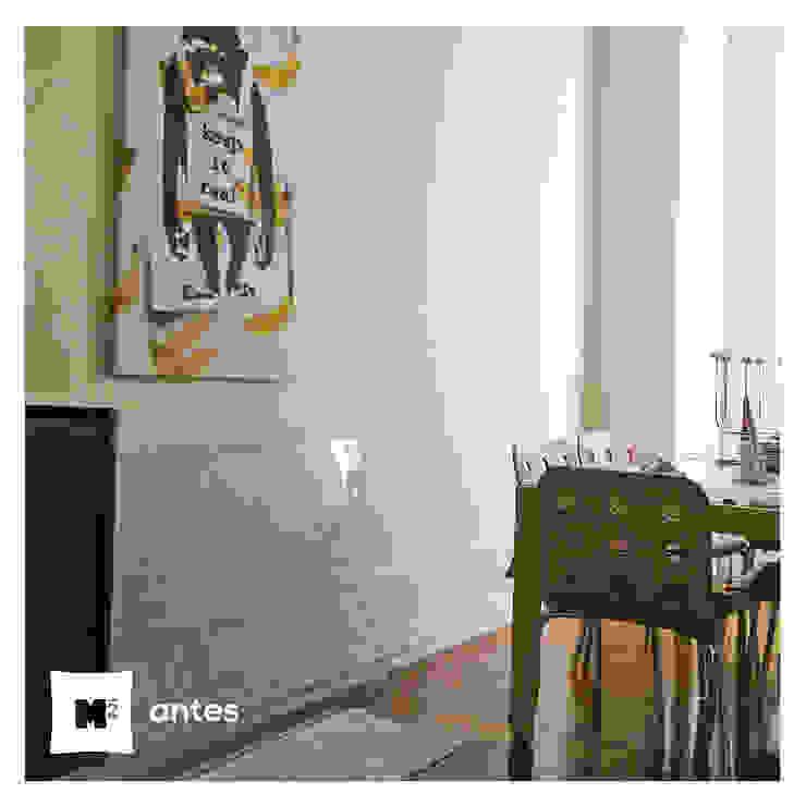 Sala de Jantar Santa Catarina antes & depois por Metros Menos Quadrados