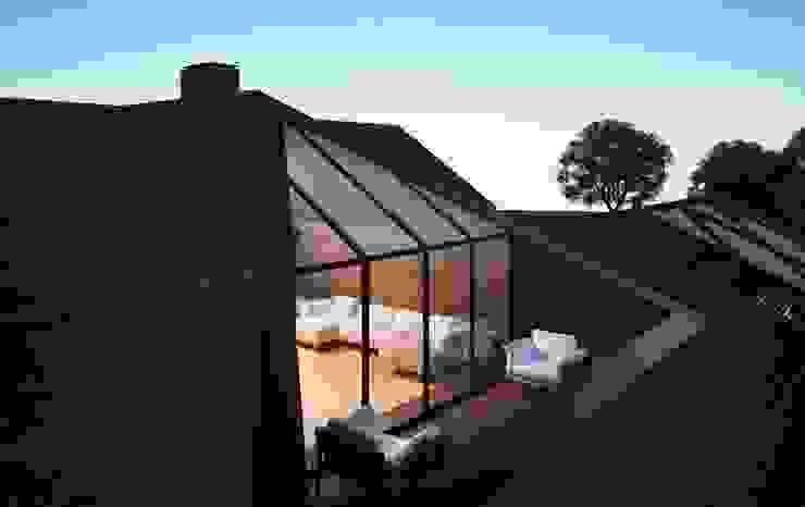 Проект дома в американском стиле Балкон и терраса в классическом стиле от Way-Project Architecture & Design Классический