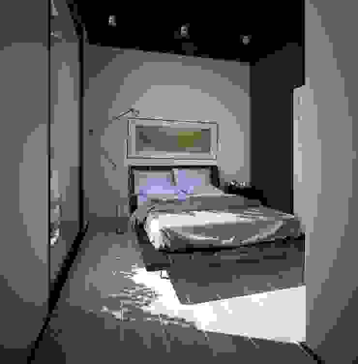 проект дома в стиле минимализм Спальня в стиле минимализм от Way-Project Architecture & Design Минимализм