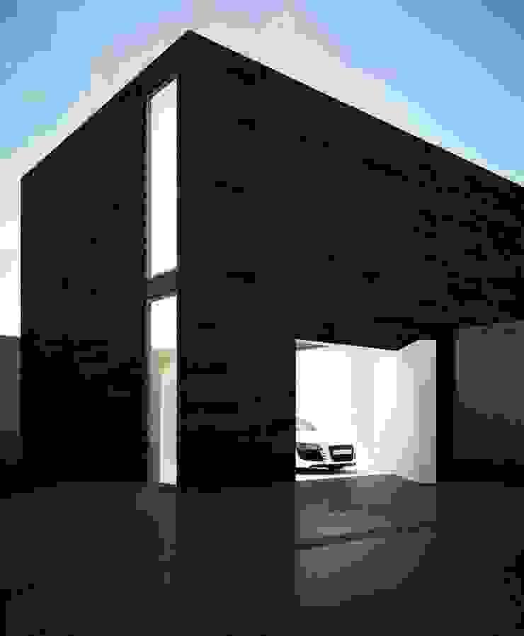 проект дома в стиле минимализм Гараж в стиле минимализм от Way-Project Architecture & Design Минимализм