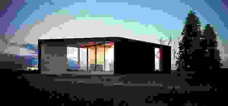 проект дома в стиле минимализм Дома в стиле минимализм от Way-Project Architecture & Design Минимализм