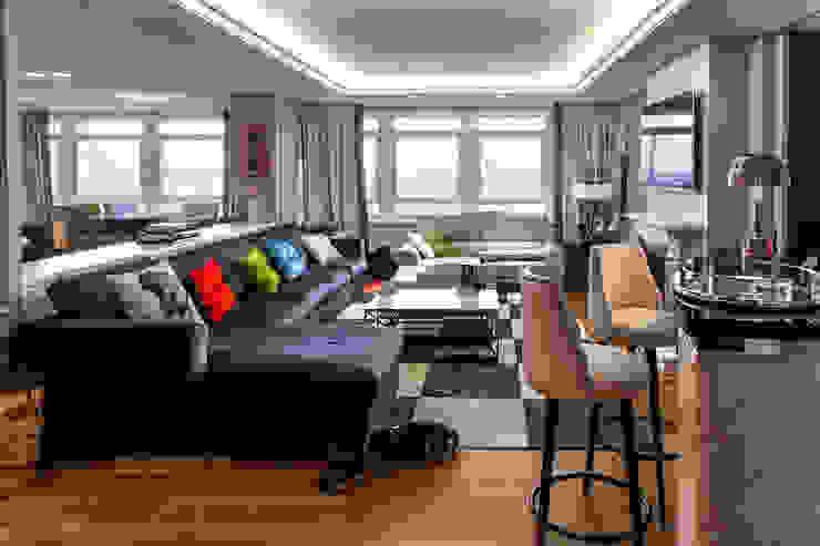 Piso Incomparable Salones de estilo moderno de Belén Sueiro Moderno