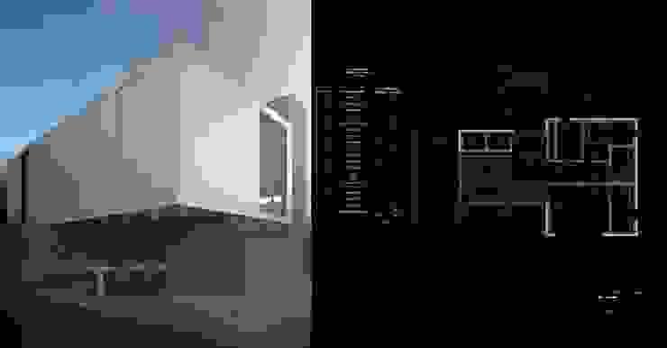проект дома в стиле хай тек Дома в стиле минимализм от Way-Project Architecture & Design Минимализм