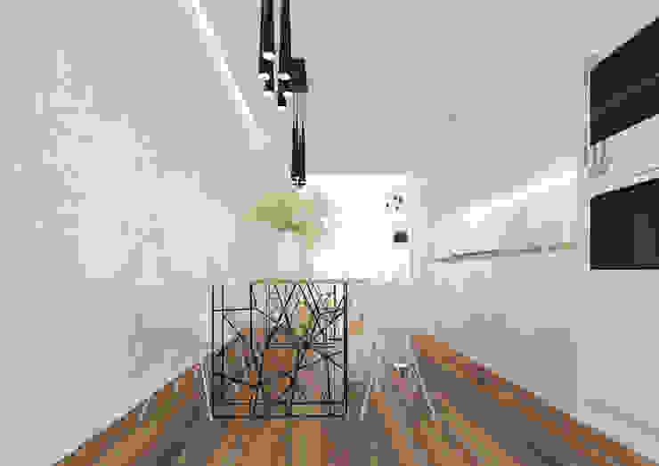Modern kitchen by ZR-architects Modern