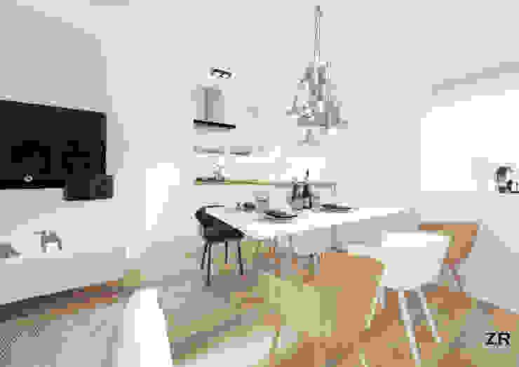 Alsemberg Cuisine moderne par ZR-architects Moderne