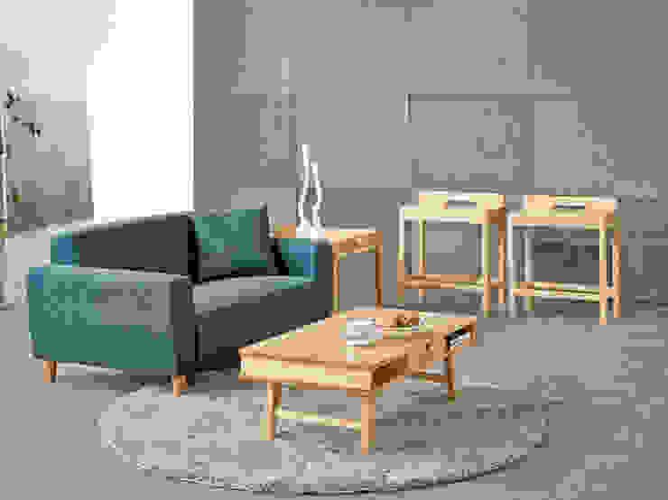 모던 소파 테이블: 우든하우스 의 스칸디나비아 사람 ,북유럽