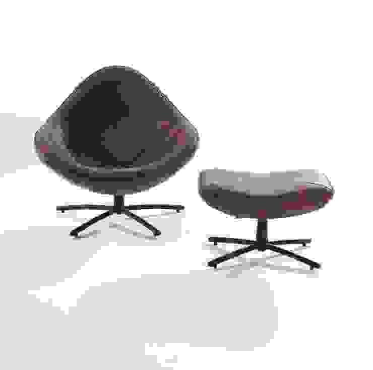 Hidde pouffe Moderne woonkamers van Label | van den Berg Modern