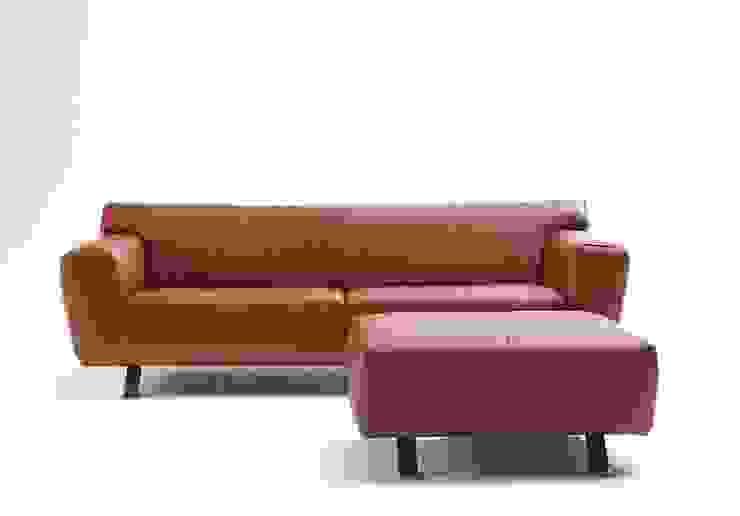 Santiago pouffe Moderne woonkamers van Label | van den Berg Modern
