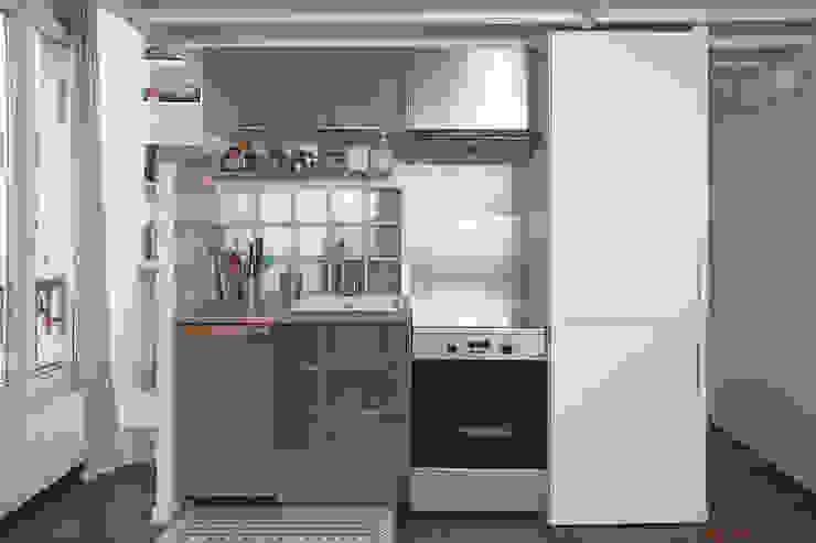 28m2 Cuisine moderne par Croisle Architecture Moderne